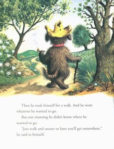 Margaret Wise Brown via brownhound / I think the illust. is by Garth Williams.