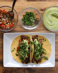 Chili Lime Steak Tacos With Avocado Sauce | If You Make These Chili Lime Steak Tacos, You Can Die Happy