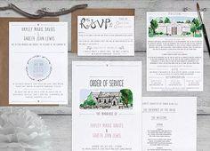 Bespoke wedding design Hayley and Gareth