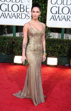 Pin for Later: Les 65 Tenues les Plus Glamour Jamais Vues aux Golden Globes Megan Fox, 2009