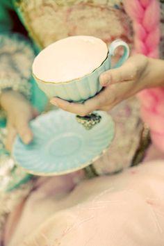 T e α T i m e: I've always wanted to host a fancy tea party.