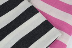 Luxury Cashmere striped baby blanket | TheBabyWeb