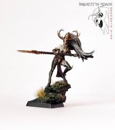 Warhammer FB | Dark Elves | Dark Elf Witch Conversion #warhammer #ageofsigmar…