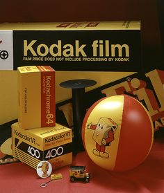 """Did you know that """"Kodak"""" was named for the sound old-fashioned cameras made? (Ka-dakk) The things you learn in this profession!"""