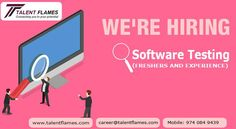 Best software training company with placement in hyderabad.Pay after Placements for the following Software Job & Training profiles with Talent Flames UI Development,Web Desigining,Android Developers,Angular,Java Developers,PHP Developers,.Net Developers,SQL Developers,Mobile Apps,Digital Marketing,HR Executives,Front Office,Office Admins,Business Development,Salesforce Developer etc.. Talent Flames is the Best Corporate IT Training company in Hyderabad.We are Top leading software training… Recruitment Training, Recruitment Services, Office Admin, Salesforce Developer, Train Companies, Account Executive, Business Requirements, Software Testing, Front Office