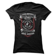 Cool Awesome Dental Assistant Shirt Shirts & Tees #tee #tshirt #Job #ZodiacTshirt #Profession #Career #assistant