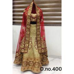 Exclusive Bridal Designer Lehenga ( D.No.400 )