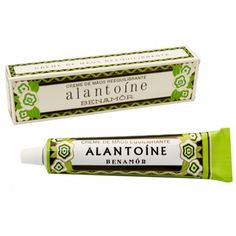 Alantoíne Hand Cream // lovely retro prints packaging // avidaportuduesa