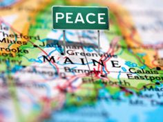 Maine was determined to be the 'most peaceful' state in the country...