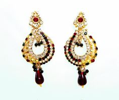 New Design of Earrings by Diva Jewellery. Complete Collection Available here:  http://www.indiebazaar.com/shop/diva/earrings?sort=mr