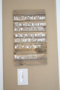 great idea! Now... where can I find some distressed wood...