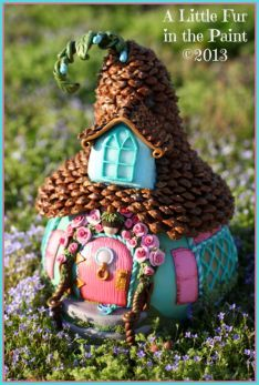 DIY Fairy Gardens - Page 21 of 1271 - - DIY Fairy Gardens – Page 21 of 1271 – You are in the right place about garden art Here we offer - Halloween Fairy, Halloween Ideas, Fairy Village, Fairy Garden Houses, Fairy Gardens, Fairies Garden, Miniature Gardens, Garden Art, Garden Ideas
