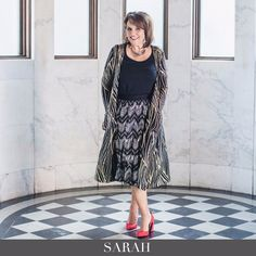 The elegant Sarah Cardigan is so amazing! I can't wait to see what's in my box!