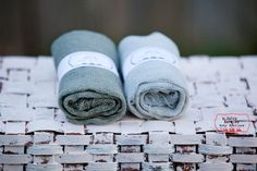 Set OF 2 Gray Cheesecloth,Newborn Cheesecloth Wraps,Cheesecloth, Baby Wrap, Newborn Prop, Newborn Wrap, Photography Prop. $9.99, via Etsy.