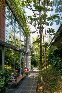 A Summer House Set In The Heart Of Brazilian Greenery  #design