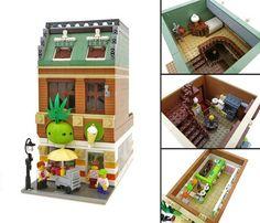 Green Pineapple fro-yo shop
