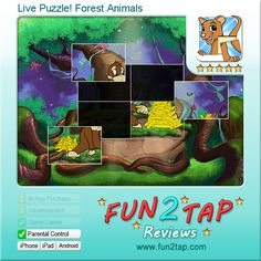 is a new kind of puzzle for kids. Forget the static jigsaw puzzles, here children are amazed by cartoon animations never stopping: the scene keeps moving while kids drag and drop the puzzle pieces. Free Games For Kids, Puzzles For Kids, Kid Games, Best Android Games, Android Apps, Free Android, Autism Apps, Curious Kids