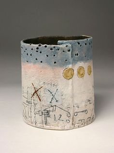 Ceramics by Craig Underhill at Studiopottery.co.uk - 2012. Plans, 14cms high