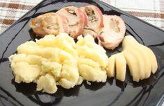 Gorgonzolás-körtés csirkemell