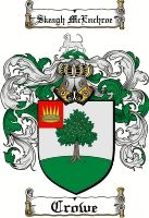 Crowe Family Crest / Crowe Coat of Arms