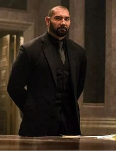 Mr. Hinx Dave Bautista Spectre 3piece Suit