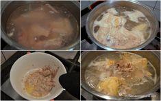 Ciorba radauteana reteta traditionala | Savori Urbane Oatmeal, Food And Drink, Pudding, Eggs, Breakfast, Recipes, Recipies, The Oatmeal, Morning Coffee