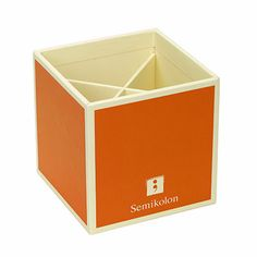 Orange pencil box PENCIL BOX:ORANGE SK3570016