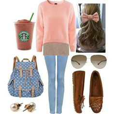 Cute outfit for begining of spring
