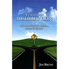 Anatomy of Misdirection by Joseph Bruno - Book