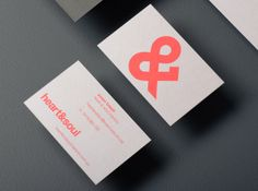 Heart & Soul Interiors by Band , via Behance  simple type based logo