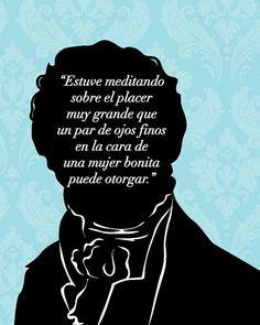 Jane Austen Spanish Wall Art, Orgullo Y Prejuicio by 10cameliaway $25