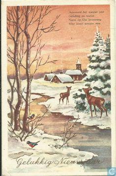 Gelukkig Nieuwjaar - 1960, Netherlands