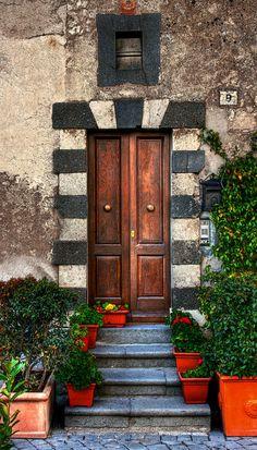 Orvieto, Terni, Italy door