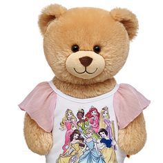 Disney Princesses Pink Tee | Build-A-Bear Workshop