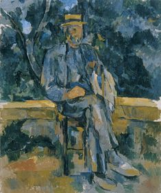 Paul Cézanne, Portrait of a Peasant (Retrato de un campesino), 1905-1906. Oil on canvas. 64.8 x 54.6 cm. Museo Thyssen-Bornemisza, Madrid