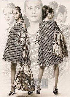 Love the bag Batik Kebaya, Kebaya Dress, Blouse Batik, Batik Dress, Dress Batik Kombinasi, Mode Batik, Ankara Dress Designs, Mode Wax, Batik Fashion
