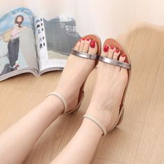 Women Gladiator Sandals 2016 Summer Peep Toe Flats Fashion Casual Shoes Woman Beach Shoes Ladies Flip-flops Zapatos Mujer Verano   Read more at Bargain Paradise : http://www.nboempire.com/products/women-gladiator-sandals-2016-summer-peep-toe-flats-fashion-casual-shoes-woman-beach-shoes-ladies-flip-flops-zapatos-mujer-verano/                  Women's Shoes Size Chart                    (Notice :You will receive Chinese size )                       US