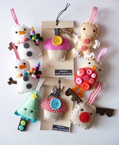 Cute felt ideas