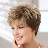 Shop our online store for short hair wigs for women. These natural hair and synthetic wigs fit mini petite, petite, average and large head sizes. Wig styles include straight, curly and wavy hair in your favorite pixie, bob or cropped hairstyle. Short Hair With Layers, Short Hair Cuts For Women, Short Hairstyles For Women, Medium Hair Styles, Curly Hair Styles, Short Sassy Haircuts, Mom Hairstyles, Short Hair Wigs, Hair Dos