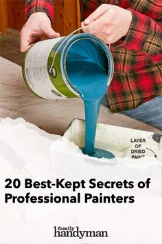Learn how to paint like a pro and pick up some great tips for achieving a perfectly smooth and even paint job. Painting Tips, House Painting, Painting Techniques, Paint Colors For Home, House Colors, Paint Supplies, Professional Painters, Buying A New Home, Diy Home Decor Projects