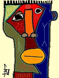 Geometric Artwork, Abstract Art, Art Cobra, Swedish Flower Hen, Graffiti, Street Art, Afrique Art, Cubism Art, Art Original