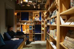 Sleep In A Bookshelf With 5000 Books In Kyoto's New Bookstore-Themed Hostel | Bored Panda