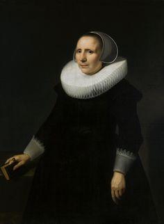 Portrait of a woman with a book by Willem van der Vliet, 1636 (PD-art/old), Muzeum Narodowe w Krakowie (MNK)