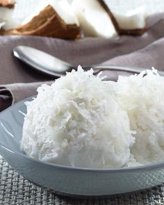 Coconut Sorbet from Chef Carey Yorio of #GoyaFoods