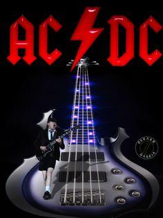 Found on Bing from www.pinterest.com Pop Rock, Rock N Roll, Hard Rock, Ac Dc Band, Metallica Art, Rock Band Posters, Bon Scott, Music Pics, Best Rock
