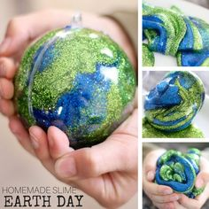How To Make Earth Day Slime for Kids Science Experiments and Activities Learn . - How To Make Earth Day Slime for Kids Science Experiments and Activities Learn … – How To Make - Preschool Science Activities, Earth Day Activities, Kindergarten Science, Preschool Classroom, Classroom Ideas, Earth Day Projects, Earth Day Crafts, Slime For Kids, Science For Kids