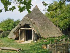 celts ireland   Iron Age (celtic) Round House Cranborne... (C) Clive Perrin ...