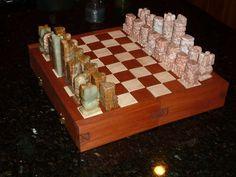 interlocking chess board puzzle