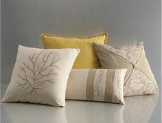 Ivory pillow pack from the CORT Signature Collection 2013