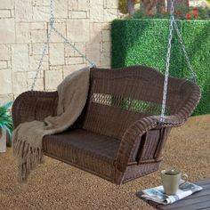 Exterior Outdoor Daybed Porch Swing Red Patio 3 Person Gazebo Canopy Deck Pool Relax
